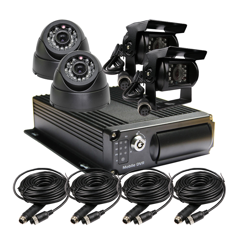 Free Shipping 4 Channel Car Rear View CCTV Car Camera