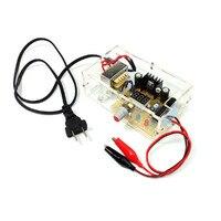 EU US Regulated Power Supply LM317 1 25V 12V Continuously Adjustable Regulated Voltage Power Supply DIY