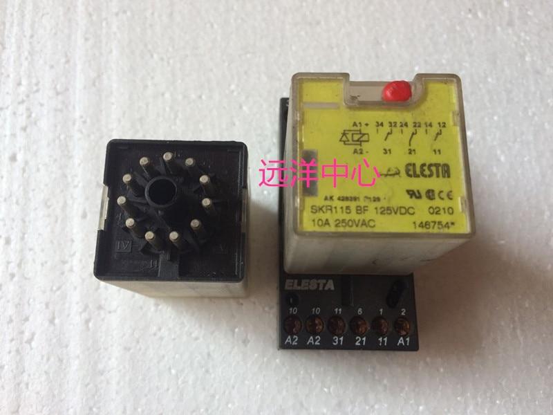 SKR115 BF 125VDC  10A ZKE118 smeg scv 115