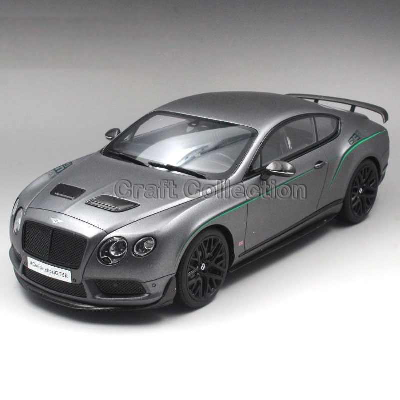 * Black GT Spirit Diecast Model Car for 1:18 Bentley CONTINENTAL GT3-R GT3 R Asian Exclusive 504pcs кроссовки баскетбольные nike zoom hyperfuse 2014
