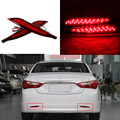 Super Led Automobiles Car Tail Rear Bumper Reflector Lights Car LED Daytime Running Lights For Hyundai Sonata