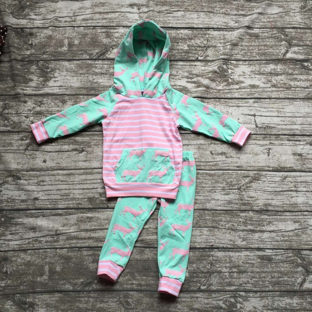 kids Fall clothes kids long sleeve outfits baby girls