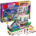 Bela Amigos 10498 Series Livi Andrea Pop Star House Building Blocks mini-muñeca de Juguete Compatible Con legoe Amigos