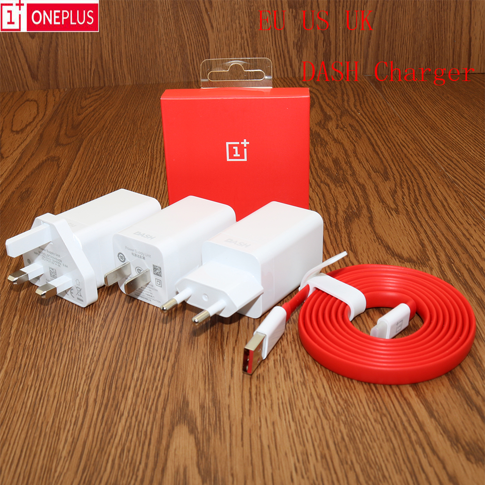 Dash-Charger Adapter Foroneplus Original Type-C 5v 4a 1 USB Data-Noodle Eu/us/Uk 5T/6