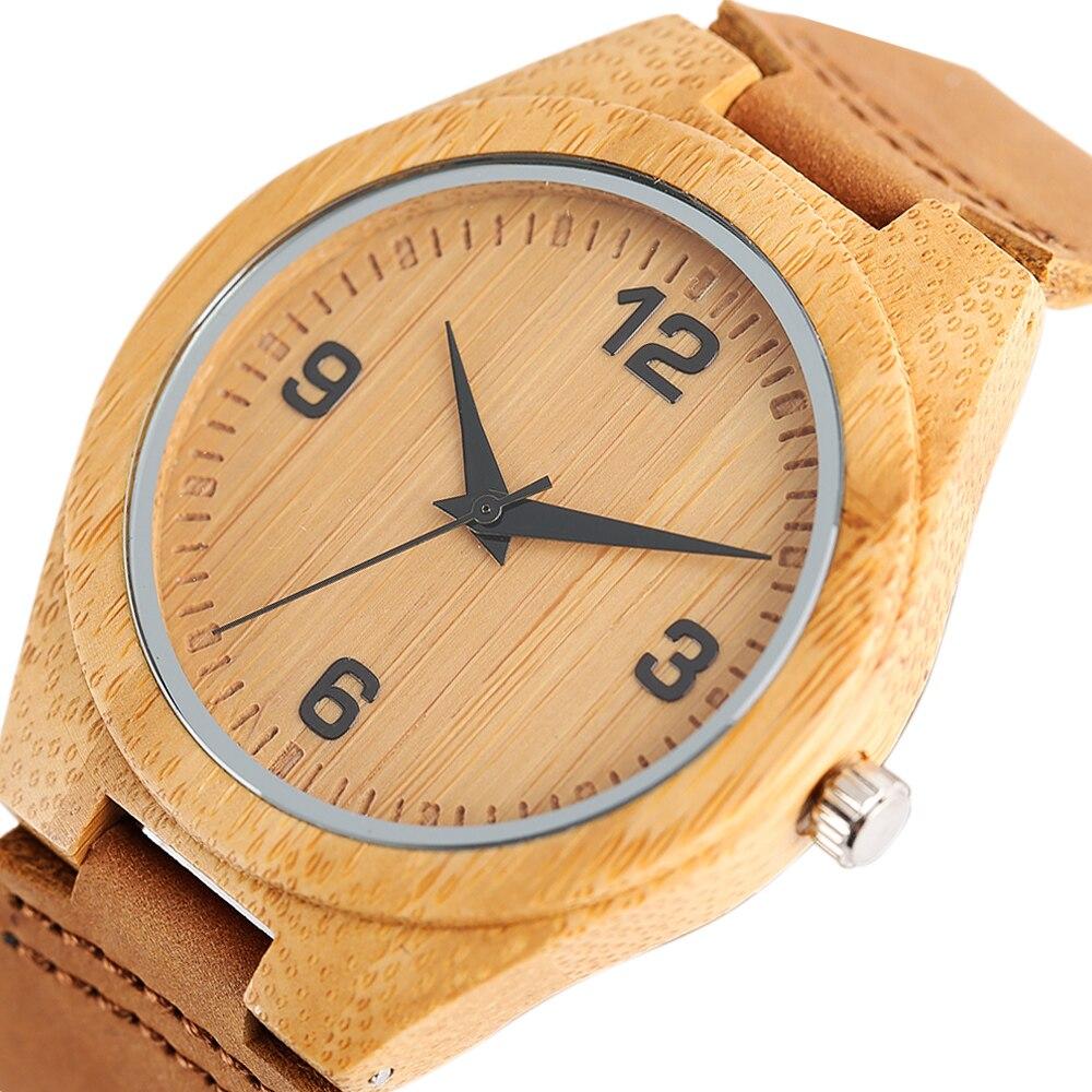 21cfb2c0e8b 2017 Luxo Unisex Relógios para Casal Mulheres Homens Relógios De Pulso  Analógico Esporte Criativo Bambu Relógio relojes mujer marca de lujo