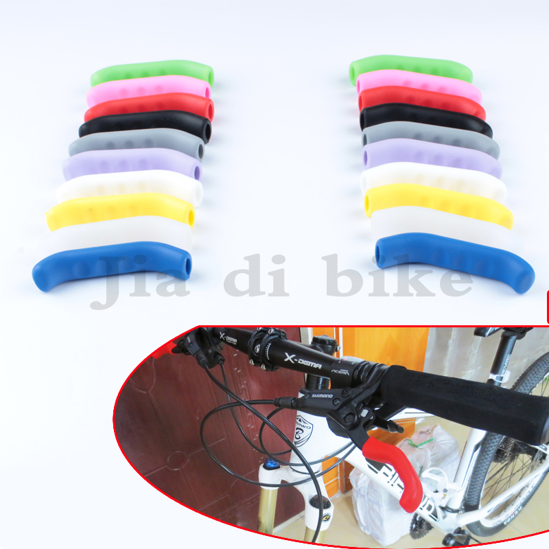 MUQZI 1 Pair Bicycle Brake Handle Protective Case Silica Gel Scratch Proof Smart Cover Durable Mountain Bike Road Bike Equipment