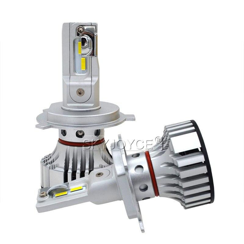 1 Set Car LED Headlight Kit F2 H4 H7 H1 H11 HB3 9005 HB4 9006 LED Bulb 72W 12000LM CSP Chips Turbo Fan 6500K Auto Headlamp Bulbs (9)