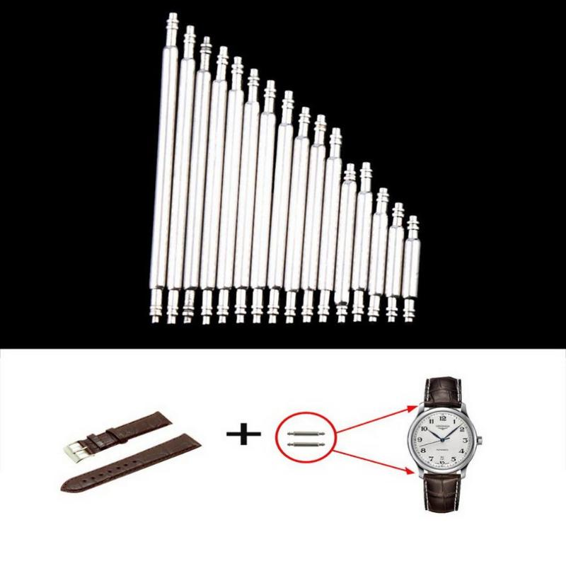 360pcs 8-25mm Watchmaker Watch Tools Spring Bar Link Pins Tool Parts for Watch Repair Tool Kit Accessories 360pcs 8 25mm watch band spring bars strap link pins repair watchmaker tools stainless steel for women men watch double flange