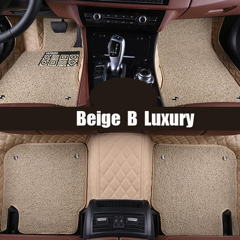 Custom fit car floor mats for mercedes benz x204 x205 glk for Mercedes benz glc 300 floor mats