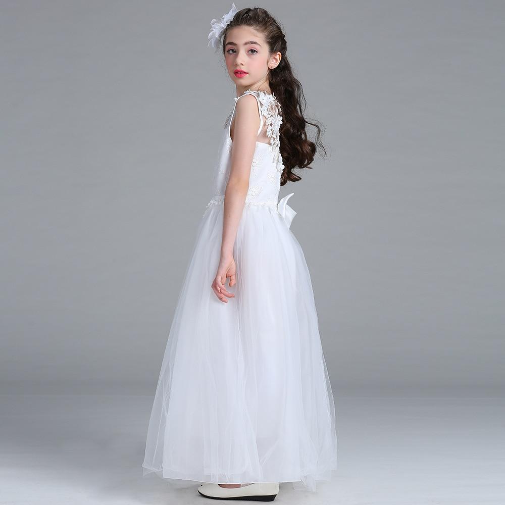 Goede kwaliteit mooie bloem meisjes jurken lange baby meisjes - Kinderkleding - Foto 2