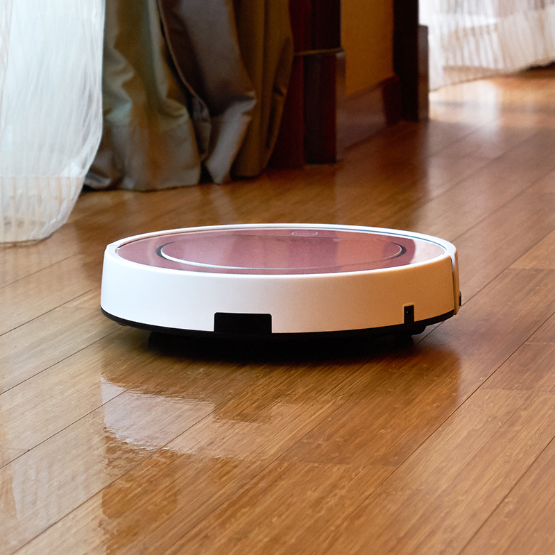 Plus Robot Vacuum Cleaner With Self Charge Wet Mopping For Wood