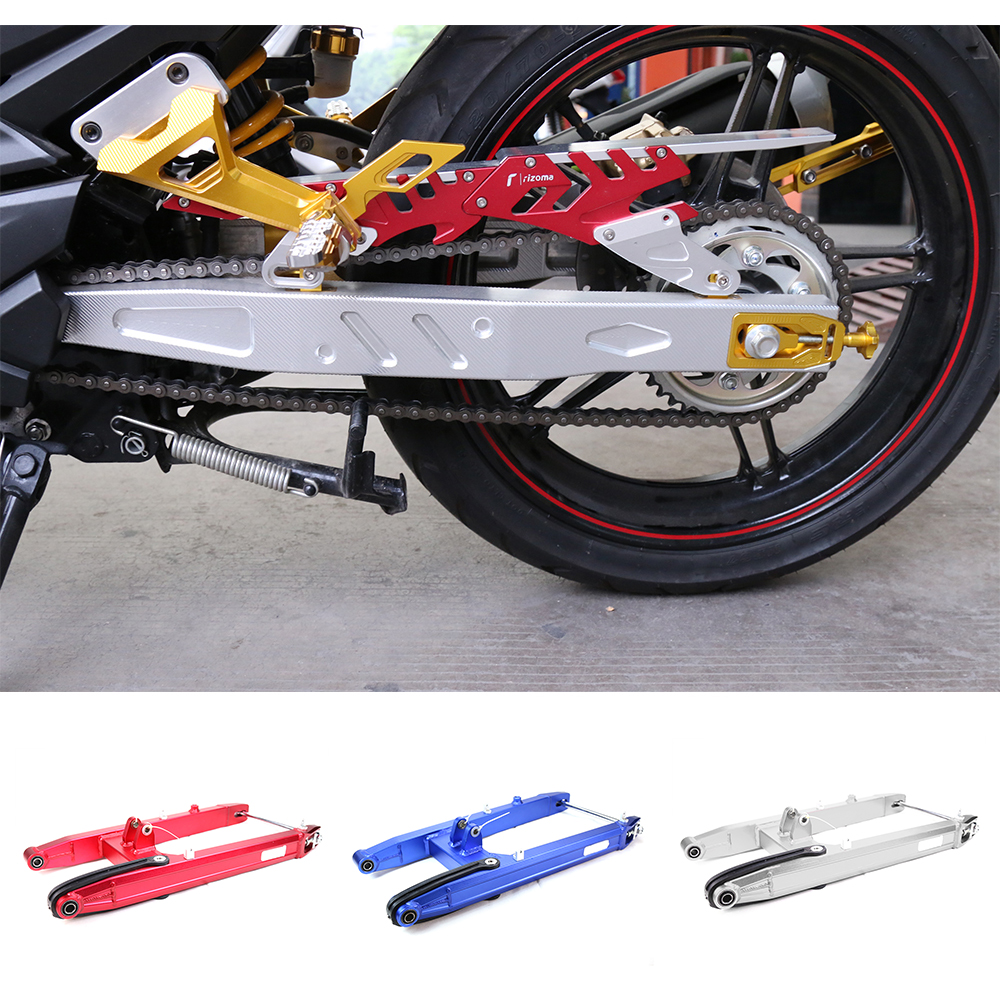 Motorcycle Accessories CNC Aluminum Alloy Rear Standard Swing Arm Suspension Swing Arm Fork For Yamaha RC150 4 Color aluminum alloy cnc front fork washer bike accessories gold 4 piece pack
