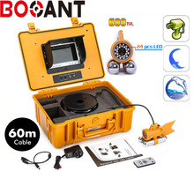 Original bestwill underwater camera waterproof camera Sony CCD effio 600TVL with 60M HD underwater video camera with 24 led