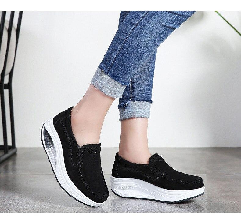Loafers das Mulheres Sapatos Femininos Mocassins de