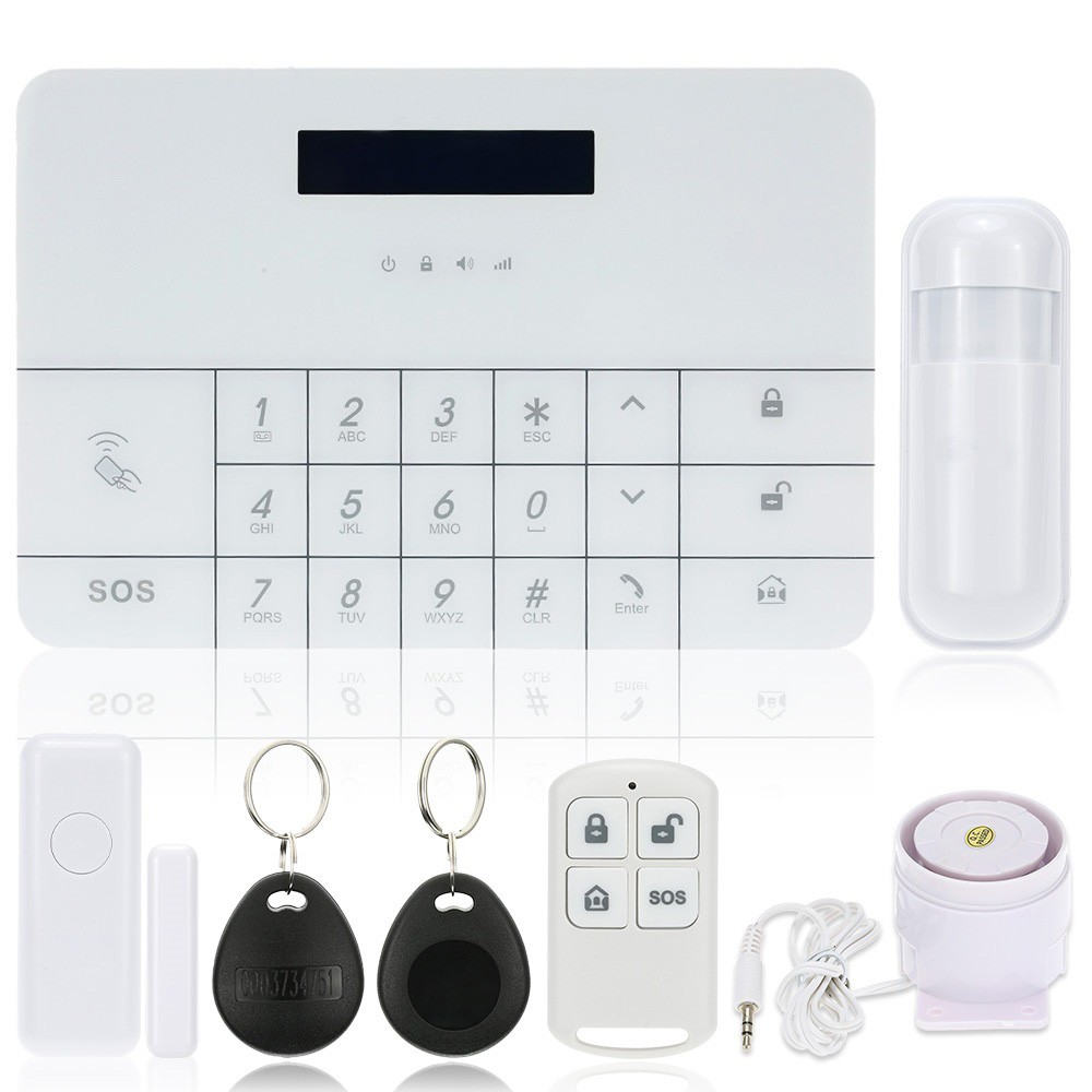 OWSOO-Wireless-GSM-Alarm-System-LCD-GSM-SMS-RFID-Touch-Keyboard-Home-House-Security-Burglar-Intruder (1)