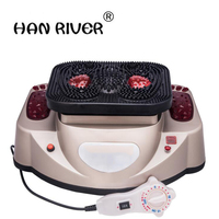 Qi and blood circulation nourishing and vitality multi function foot massage high frequency spiral vibration heating instrument