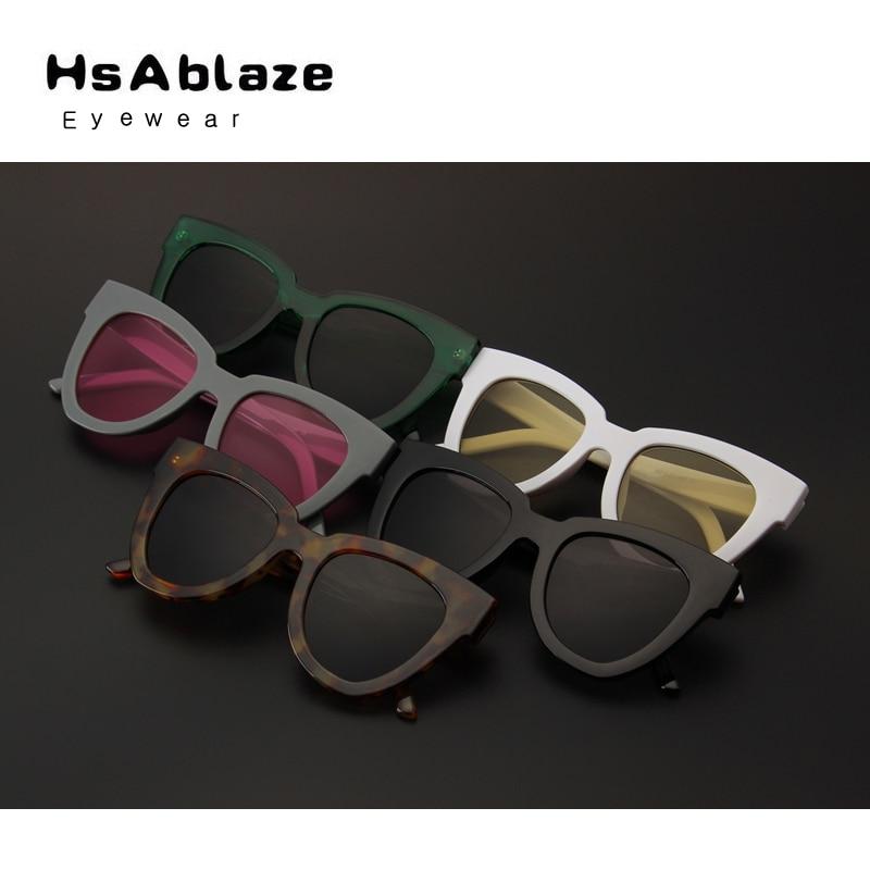 7e925bbd68 HsAblaze Estilo Ojo de Gato gafas de Sol Eyewear Nuevo 2017 Verano de Las Mujeres  Sexy Leopard Damas Retro Dom vidrio gafas de Sol glasse sol en Gafas de ...