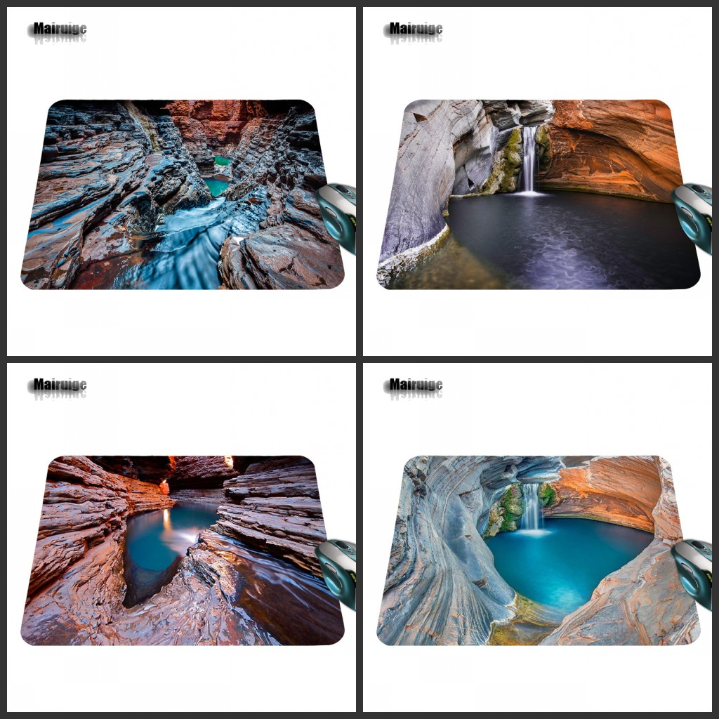 Mairuige Beautiful Scenery In The Park Hot Sale New Game Vintage Rectangle Mousepad Mouse Pad for Games 18*22cm and 25*20cm
