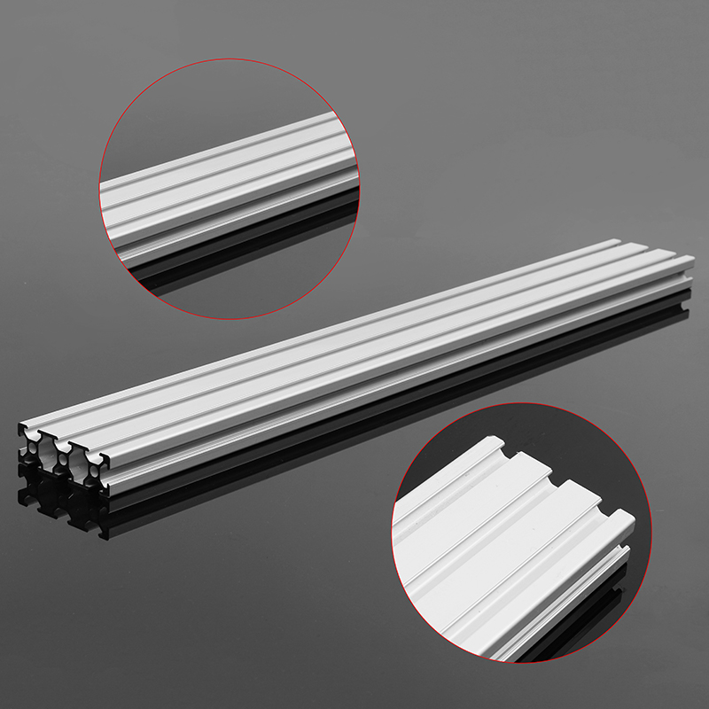 200/300/400mm Length Aluminum Profiles 2060 T-Slot Extrusion Frame For CNC 3D Printer Lasers Stands Furniture Plasma high quality 500mm length 4040 double t slot aluminum profiles extrusion frame based on 2020 for cnc 3d printers plasma lasers