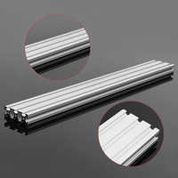200/300/400mm Length Aluminum Profiles 2060 T-Slot Extrusion Frame For CNC 3D Printer Lasers Stands Furniture Plasma