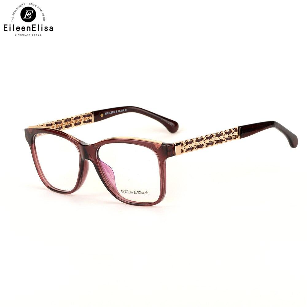 08ec6275d08 EE Fashion Eyeglasses Frame Women Optical Eye Glasses Frame Brand Designer  Frames Men Clear Eyewear Frames-in Eyewear Frames from Apparel Accessories  on ...