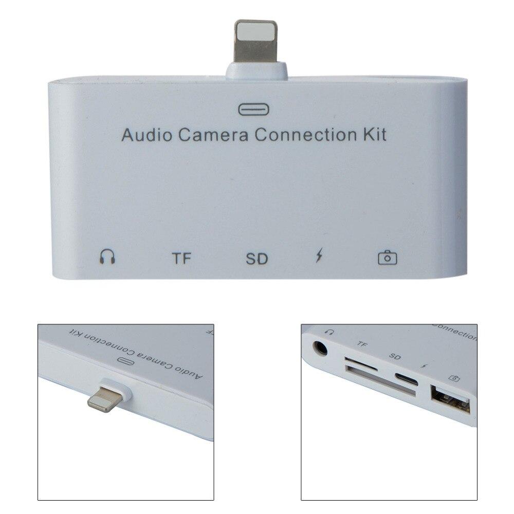 Mini Camera Audio Connection Kit SD Micro SD CARD Chager Headphone 5 ...