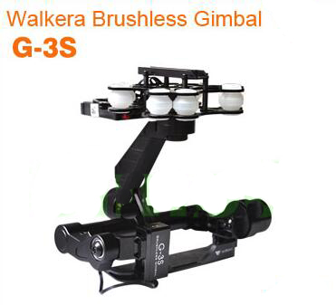 Walkera Brushless 3D Metal PTZ G-3S Support  SONY RX100II for Aerial Photography Accessaries