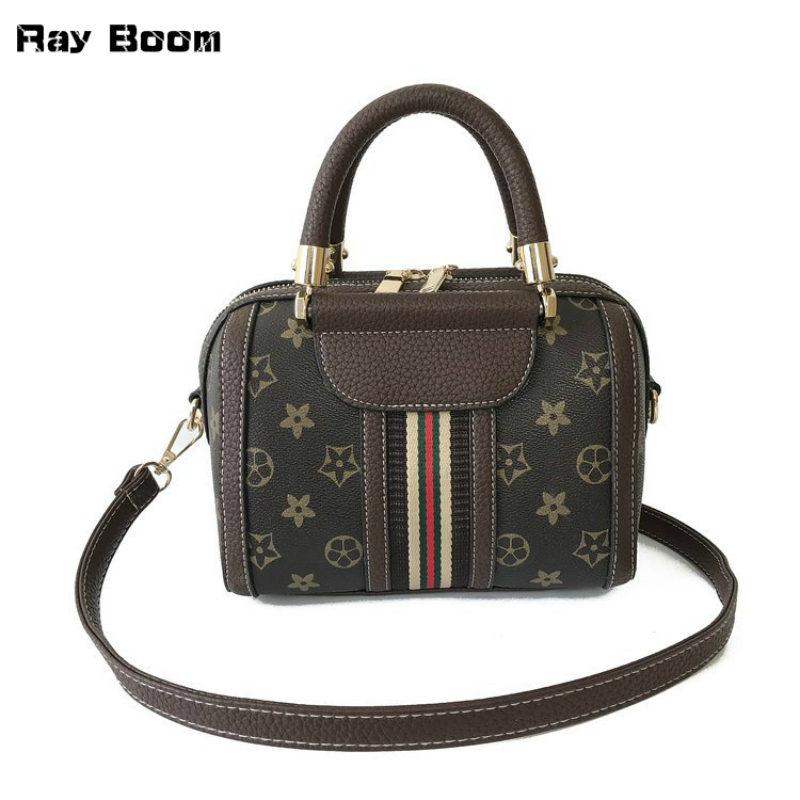 2018 Hot Sell Ray Boom Classic Fashion Luxury Women Hand Bags High Quality PU Leather Vintage Shoulder Bags Female Multifunction