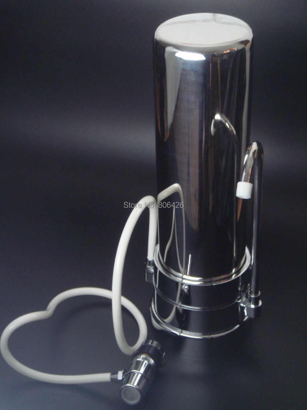 Столешница водопроводной воды фильтр/очиститель, кран фильтр/очистка воды с ПП комбинированный UDFcartridge + универсальный кран разъем