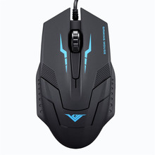 SimpleStone 1600 DPI 3 Button Optical USB Wired Gaming Mouse Mice For PC Laptop 60315