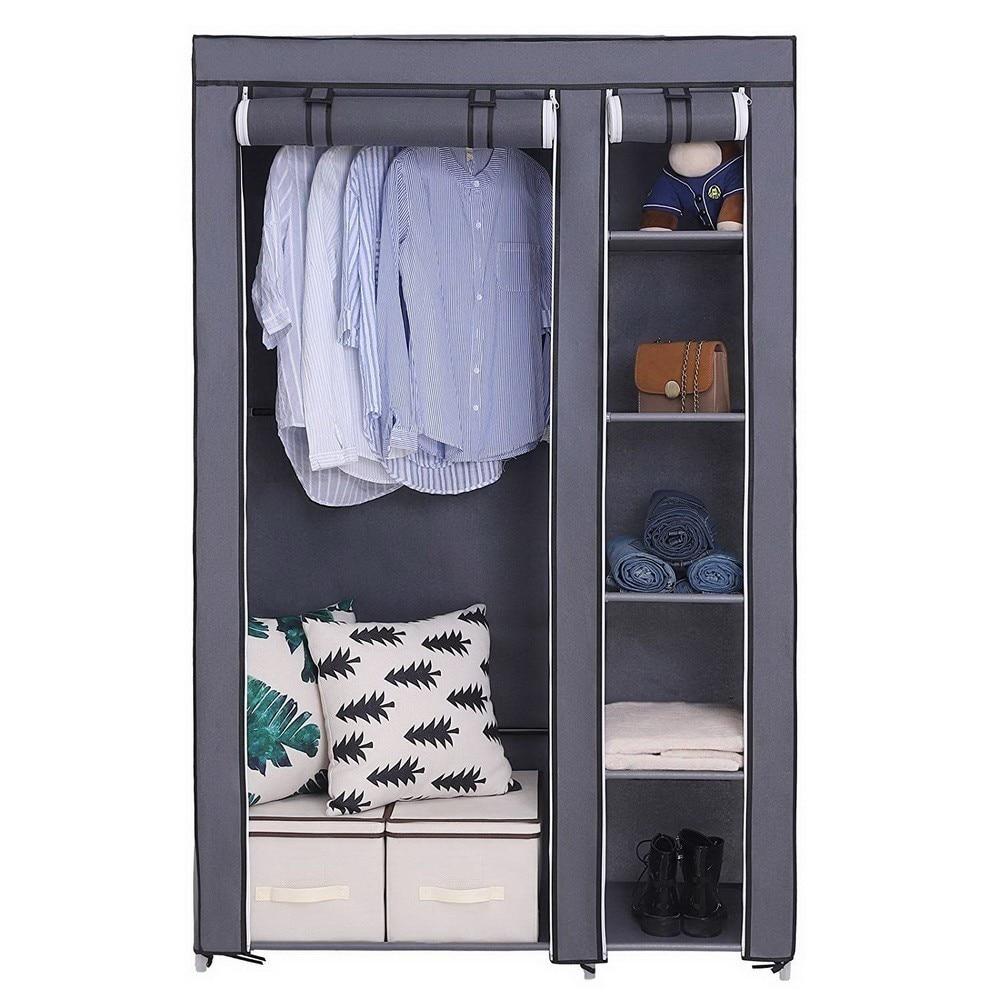 Multi-purpose Non-woven Cloth Wardrobe Dustproof Fabric Closet Portable Folding Moisture Proof Clothing Storage Cabinet