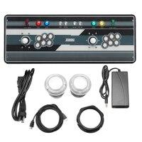 Коробка 5S 986 все в 1 Мультиплеер Главная Ретро видеоигр HD машина со светом VGA, HDMI, USB акрил деревянные случай