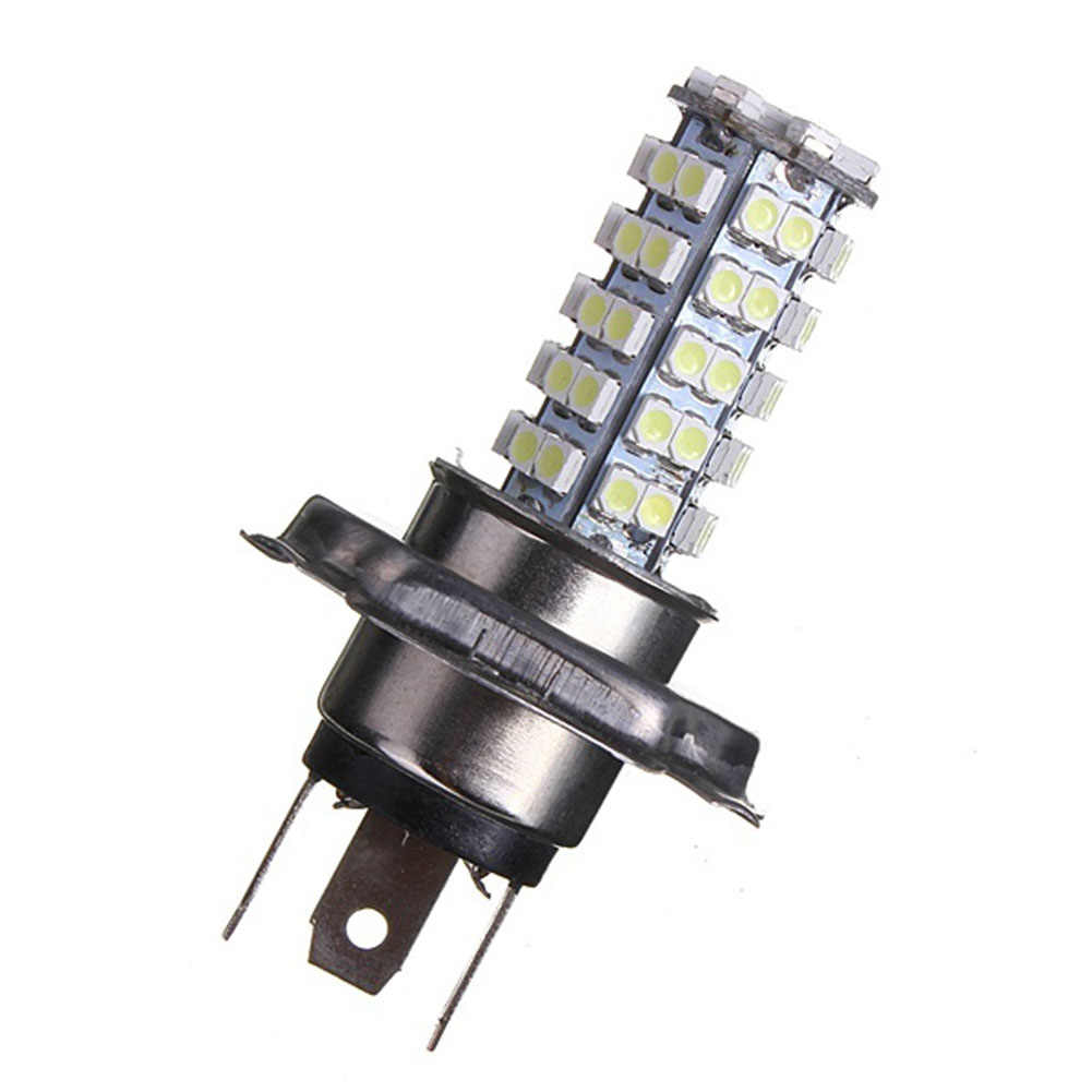 Car Auto H4 3.5W 68-SMD LED 6500K 310-Lumen White Fog Light Driving Headlight Lamp Bulb