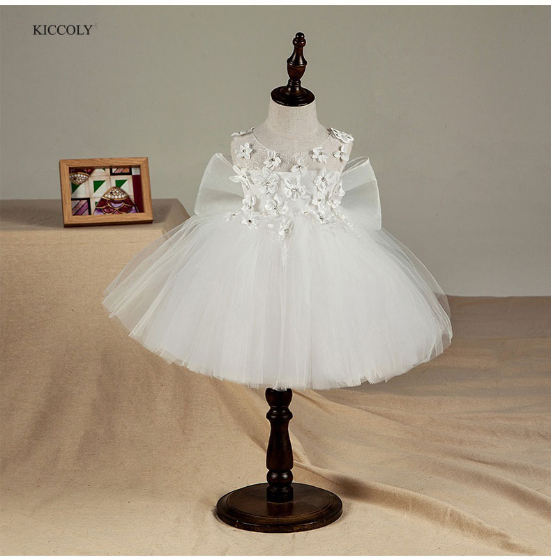 KICCOLY Fancy Big Butterfly Kids Girl Wedding Flower Girls Dress Princess Party Pageant Formal Dress Prom Little Baby Girl GownKICCOLY Fancy Big Butterfly Kids Girl Wedding Flower Girls Dress Princess Party Pageant Formal Dress Prom Little Baby Girl Gown