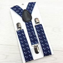 GUCUANNVIC Dark blue white striped clasp Metal leather 2 kinds of connecting women