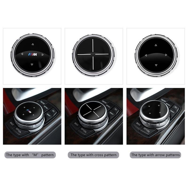Multimedia Zubehör Idrive Änderung Elegante Klassische Taste Abdeckung Knob Abdeckung Für BMW x1/x3/x5/x6/ 1 serie 2/7/5/3
