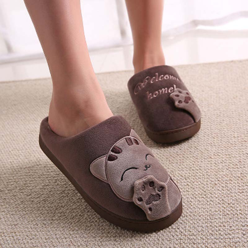 Cat Paw Slippers For Women