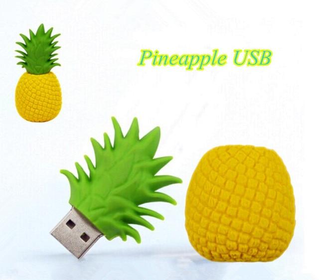 USB stick Ananas/fruit usb Flash drive thumb u disk USB 4 GB-64 GB geheugen stok gift/souvenir S618
