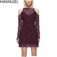 HAMALIELSelf-세로 스타일 여성 드레스 2017 활주로