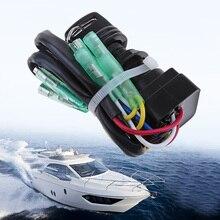 Универсальный Выключатель ключа зажигания лодки в сборе для Yamaha 40HP 60HP, замена подвесного двигателя 703-82510-42-00/703-82510-43-00 морской