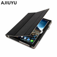 Genuine Leather Case For Lenovo Tab 4 10 Plus Cover Cowhide Tab410plus Protective ProtectorTB X704F