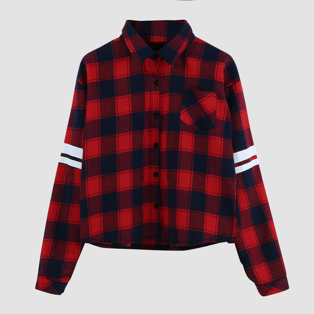 Womens Red Button Down Shirt Promotion-Shop for Promotional Womens ...