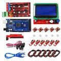 HAILANGNIAO CNC 3D Принтер Комплект для Mega 2560 R3 + RAMPS 1 4 контроллер + LCD 12864 + 6 концевых выключателей + 5 A4988 шаговый