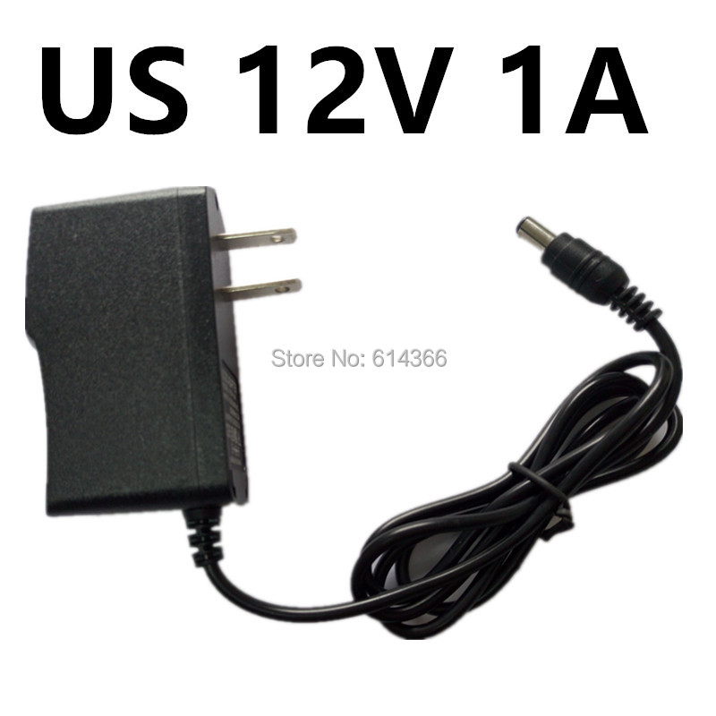 10PCS New EU US Plug 1A 12V power Adapter 12V 1A 1000mA Power Adapter 12V 100-240V autoeye cctv camera power adapter dc12v 1a 2a 3a 5a ahd camera power supply eu us uk au plug