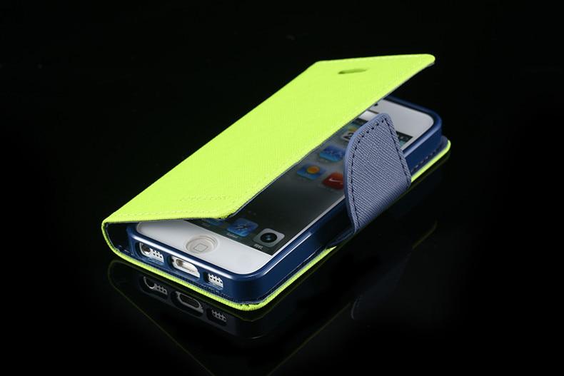 Podwójny kolor klapki skóra telefon torba case dla iphone 6 7 6 s plus 5 5S se gniazda kart + stojak kabura pokrowiec case dla iphone 7 6 6 s 18