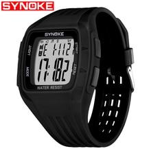 SYNOKE Fashion Sports Watch Men Women Waterproof Shock Men's Digital Watches Military Clock Casual Wristwatches New цена 2017