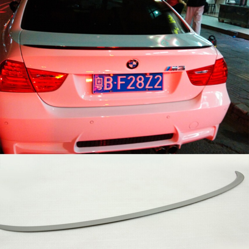 M3 Trunk Boot Lip Spoiler Wing For BMW E90 M3 3Series 2009-2012 Unpainted PU