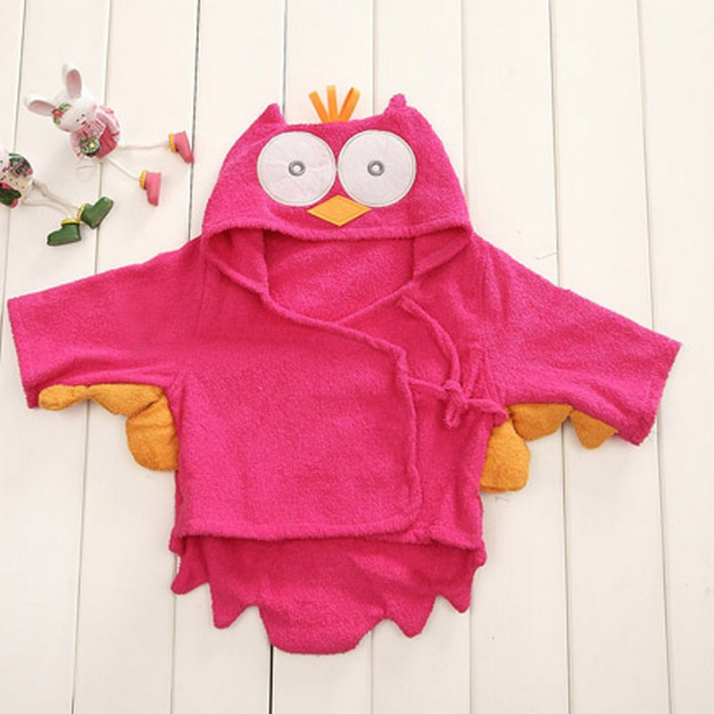 Hot Sale Baby Clothing Animal Shape Bathrobe Pajamas Winter ...