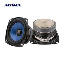 AIYIMA 2 шт 3,5 дюймов полный спектр аудио динамик s Колонка портативный Fever звук динамик 4 Ом 20 Вт громкий динамик DIY домашний кинотеатр