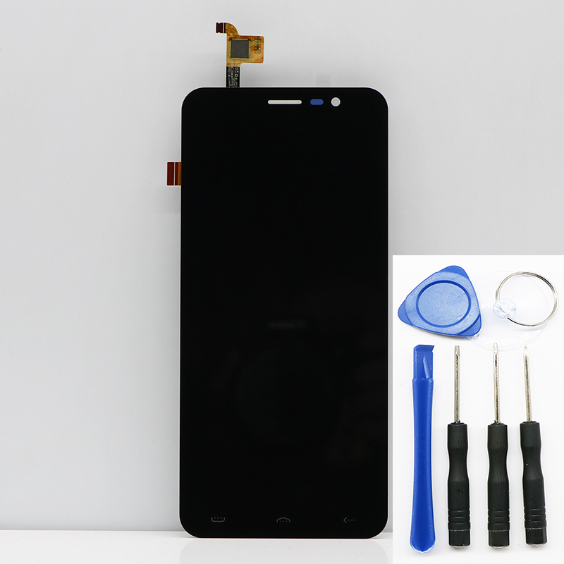 New Original LCD Display LCD Screen For HOMTOM s16 Replacement Parts + Disassemble Tool+Glue